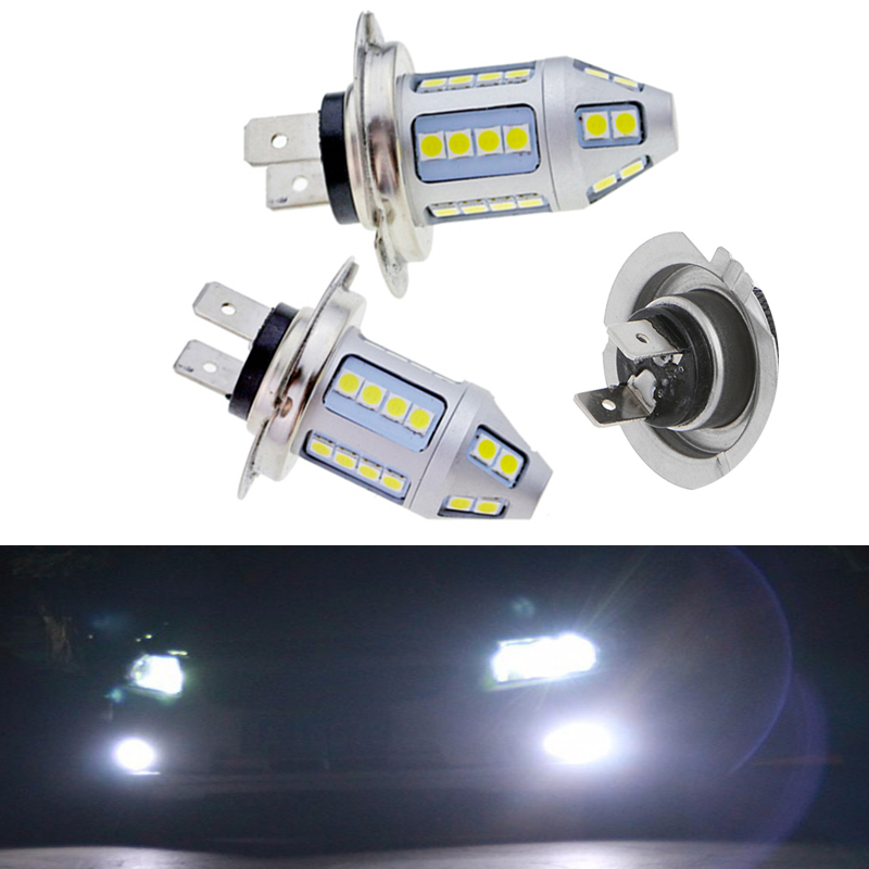 Car Styling!! 2pcs H7 150W Fog Led Light Lamp 12V 30 SMD 3030 Chip White Bulb Car Styling Headlight For Headlamp lights-in Car Headlight Bulbs(LED) from Automobiles & Motorcycles on AliExpress