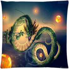 Free shipping Custom Zippered Square Pillowcase Dragon Ball soft Pillow Cover Case in vogue SQ00608-H01