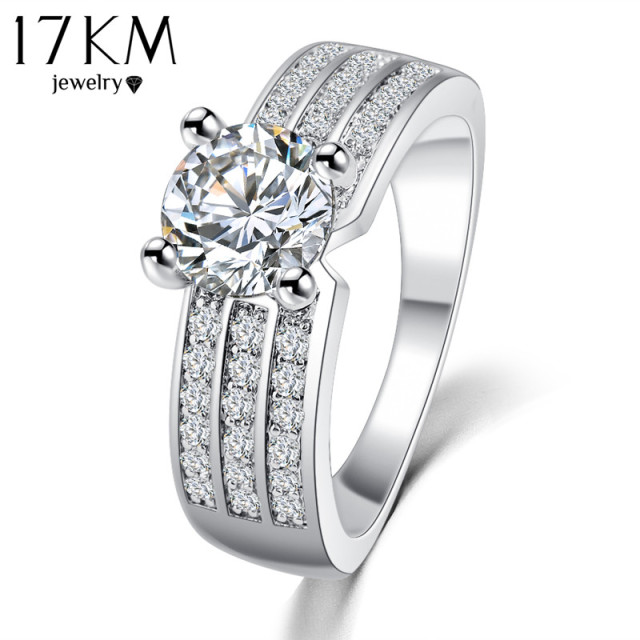 Finger Ring Zircon