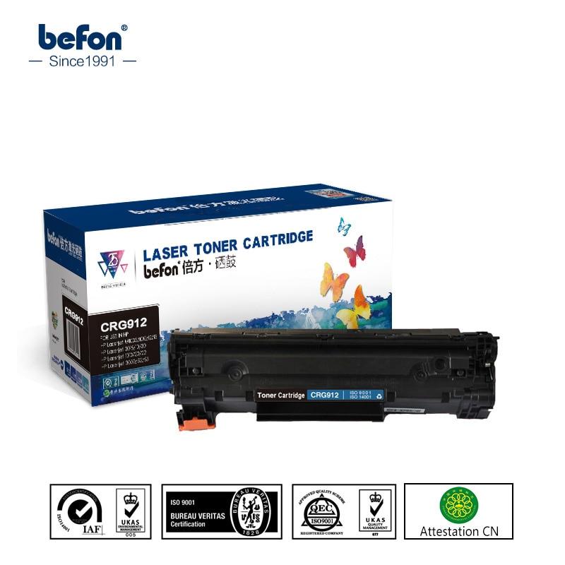 befon Black Toner Cartridge for Canon CRG712 712 CRG312 312 Compatible for Canon  LBP-3010 3018 3050 3100 3108 3150 3010 3018