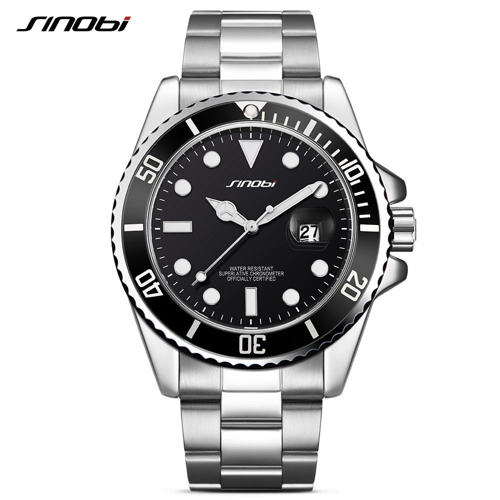 SINOBI Submariner Date Calendar Men