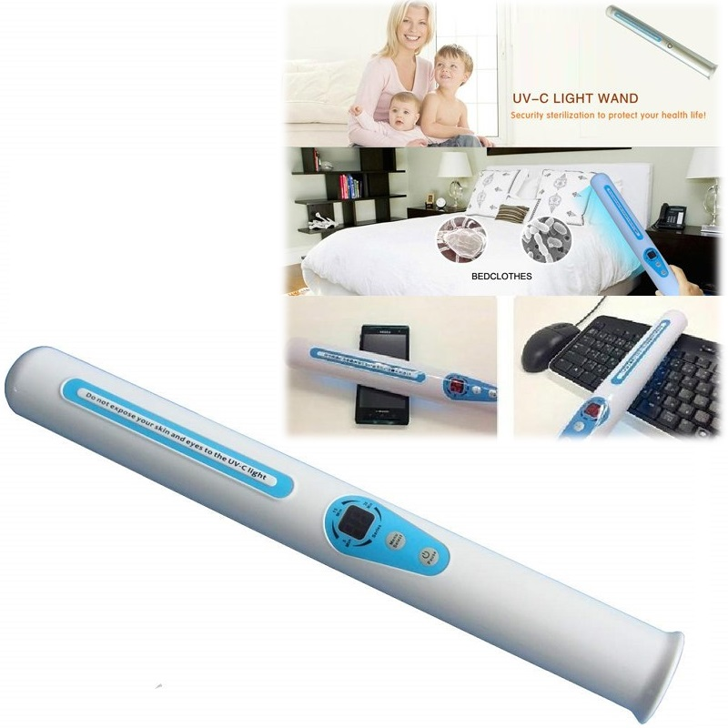 ჱ Portable UV Sanitizer Hand Wand Ultra Violet Light Kill