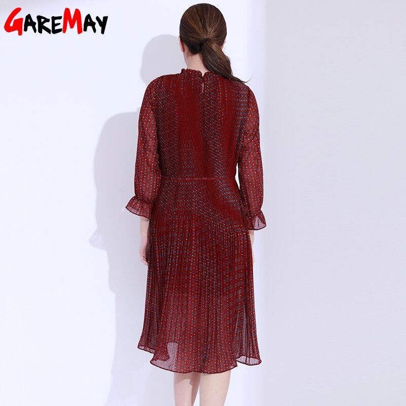 Платья с цветочным принтом - Женская одежда - Фотография 3