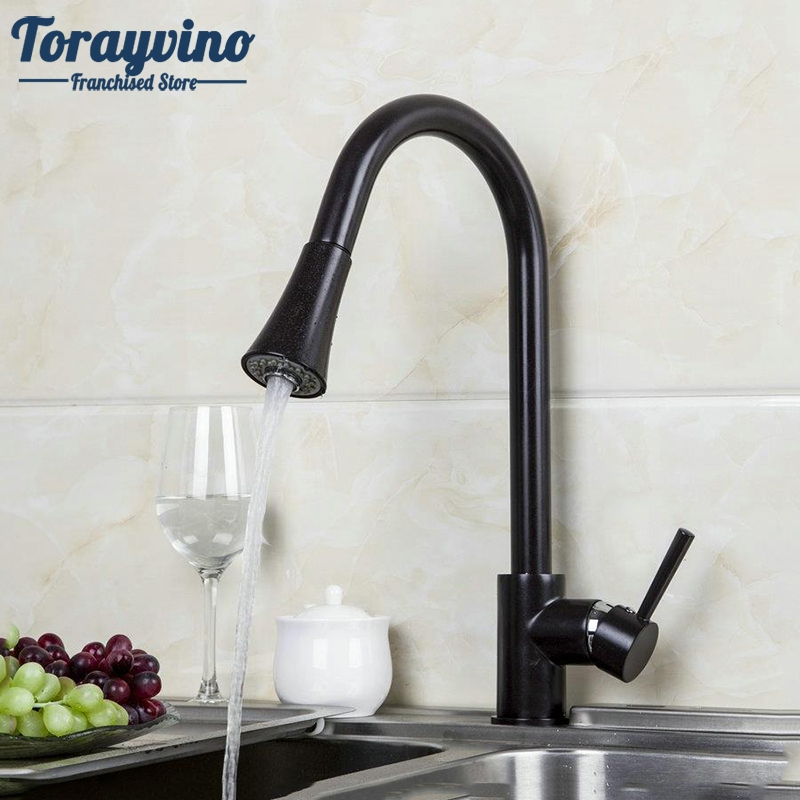 Kitchen Sink Swivel Pull out Faucet New Oil Rubbed Bronze Faucet torneira da cozinha 92284 Vessel Sink Mixer Tap new design pull out kitchen faucet chrome 360 degree swivel kitchen sink faucet mixer tap kitchen faucet vanity faucet cozinha