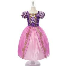Nieuwe Meisjes Cinderella Jurken Kinderen Sneeuwwitje Prinses Jurken Rapunzel Aurora Party Halloween Kostuum kids Jurk