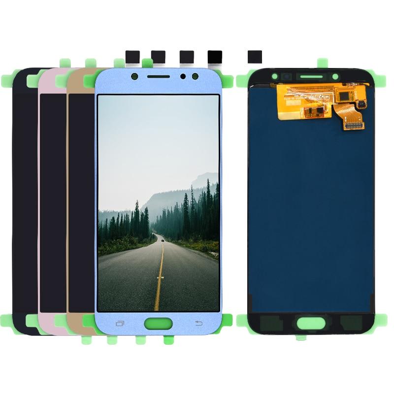 Para Samsung Galaxy J7 Pro 2017 J730 SM-J730F J730FM/DS J730F/DS J730GM/DS pantalla LCD + asamblea de pantalla táctil digitalizador