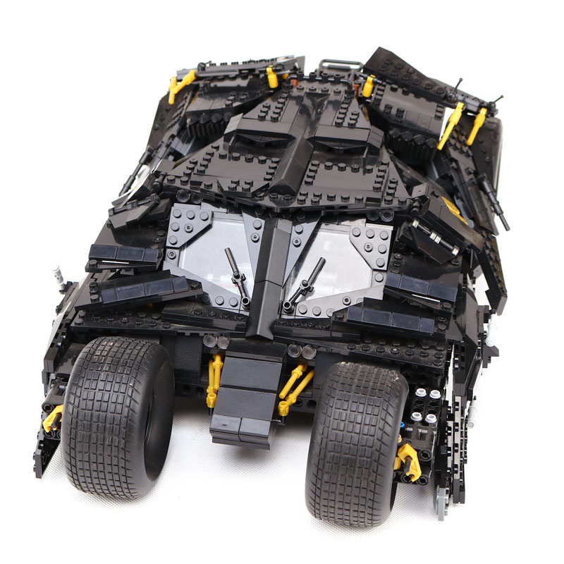 lepin 7111 super heroes serie Die Tumbler modell Bausteine set kompatibel LegoING 76023 Classic car-styling spielzeug fur kinder neue lepin 15014 1858 stucke freizeitpark der carnival model bausteine set kompatibel creator 10244 architektur spielzeug gesch