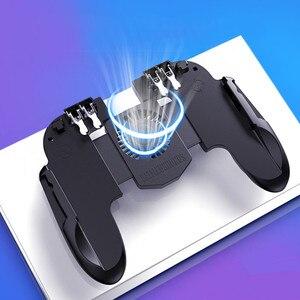 Image 5 - Mando para jugar a PUBG con el móvil, para iPhone y Android, botón de puntería, mando izquierdo/derecho