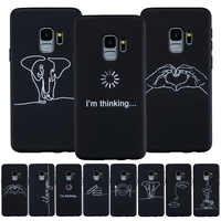 Capa for Samsung A7 2018 Case Silicon Soft Cover on for Samsung Galaxy S9 S8 S7 Edge A6 A8 Plus 2018 A3 A5 2017 Note 9 S 8 Coque