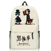 Anime Black Butler Kuroshitsuji Rugzak Unisex Ciel Phantomhive Sebastian Cartoon schoudertas mochila 4 stijl