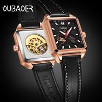 Relogio Masculino 2017 OUBAOER Men's Sports Automatic Watch Men Top Brand Luxury Designer Mechanical Watch Man Gold Clock male