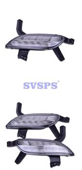 High Quality Tuning Parts Daytime Running Lights Fog Lights Modified Highlights For Roewe 350 2012-2016