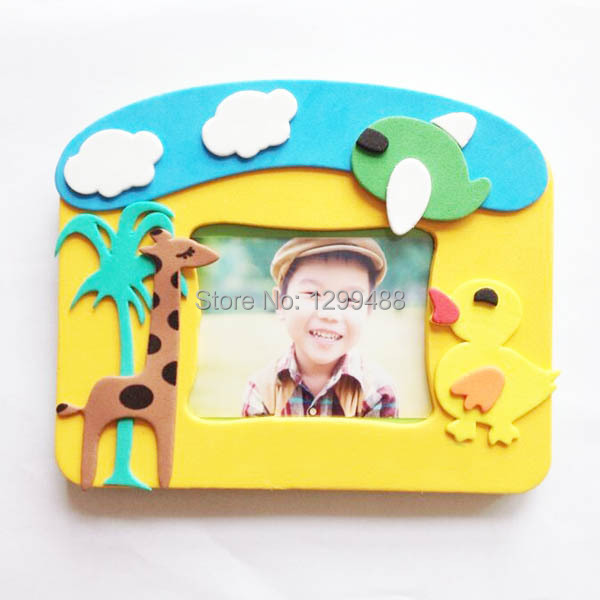 DIY accessories craft kit, EVA foam photo frame on Aliexpress.com ...