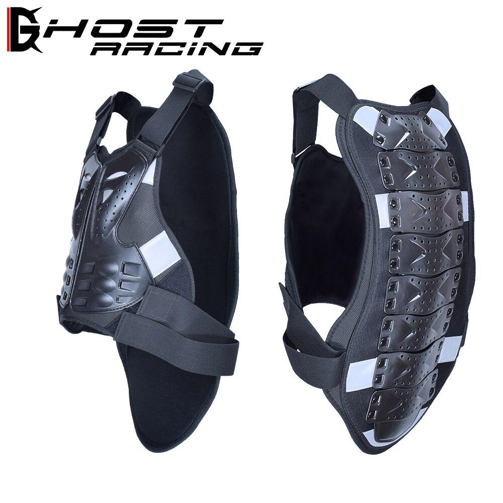 Fantôme RACING Motocross Racing armure Moto équitation Protection du corps veste avec une bande réfléchissante Moto armure équipement de Protection
