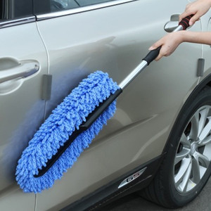 Image 3 - Car Special Wax Tow Cleaning Mop Tweezers Soft Hair Retractable Water Long Handle Dust Removal Car Wash Brush
