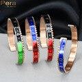 Alta qualidade 316l titanium aço inoxidável moda unissex velocímetro rose banhado a ouro cuff bangle bracelet jóias para homens z001