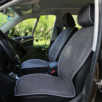 Car Seat Cover Microfiber Auto Seat Protector Quick-Dry / O SHI CAR seat cushion Secure Non-Slip Odor Free Universal universal auto car seat cover auto front rear chair covers seat cushion protector car interior accessories 3 colors