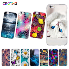 Silicone Case for iPhone 6 6 s 6s Soft TPU Back Phone Cover for iPhone 5 5s SE Print Protector Fundas For iPhone 7 8 Shells Bags