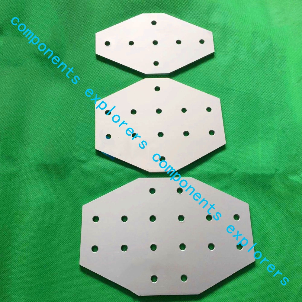 4545Cross-7-connection plate for reinforcement of profiles,10pcs/lot. пилочка для ногтей leslie store 10 4sides 10pcs lot