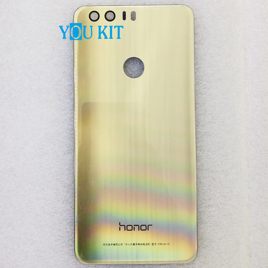 For Huawei Honor 8 Glass Battery Cover (15)