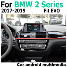 Car Android original style For BMW 2 Series F22 F23 2017-2019 EVO GPS Navigation radio stereo multimedia player DSP touch screen for bmw 2 series f22 f23 2012 2017 nbt car android navigation gps touch hd screen multimedia player stereo display audio radio