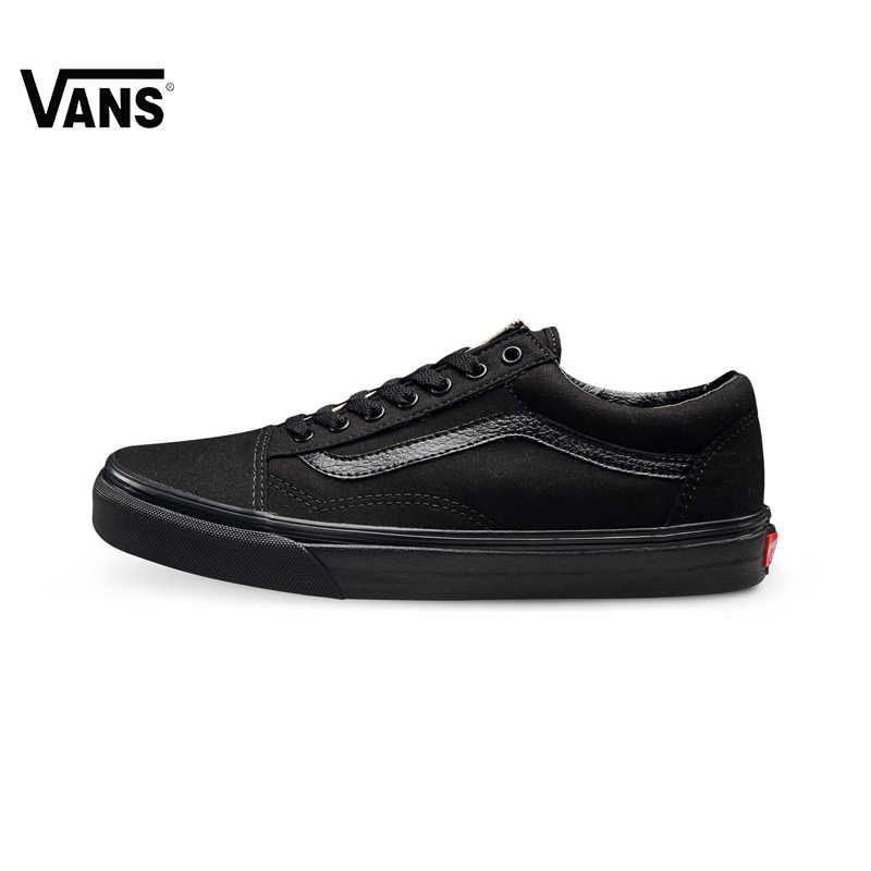 cd7dbffd98e581 Original Vans Old Skool Light-Weight Low-Top Men   Women s Skateboarding Shoes  Sport