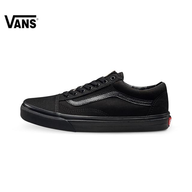 Оригинальные легкие мужские и женские Кроссовки Vans Old Skool для  скейтбординга, спортивная обувь, парусиновые 217bc3955c9