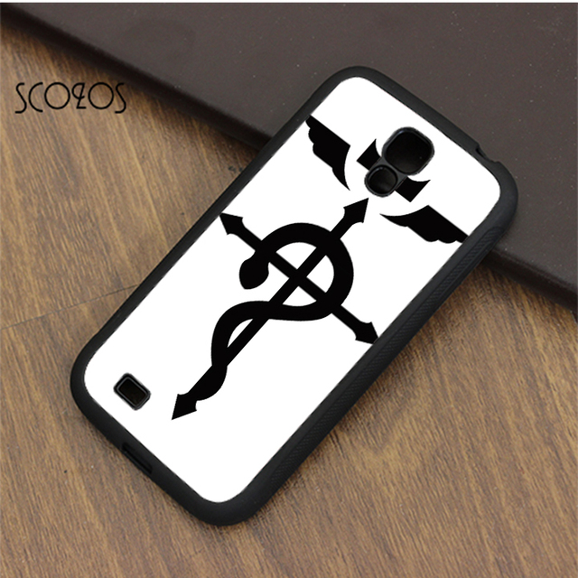 Scozos Fullmetal Alchemist Brotherhood Symbol Case Cover For Samsung