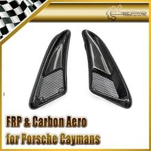 Автомобиль-Стайлинг для Porsche 2006-2012 caymans Boxster S углеродного волокна EP Стиль боковые вентиляционные