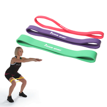 Short paragraph resistance bands  gym strength training latex athletic equipment pull ring