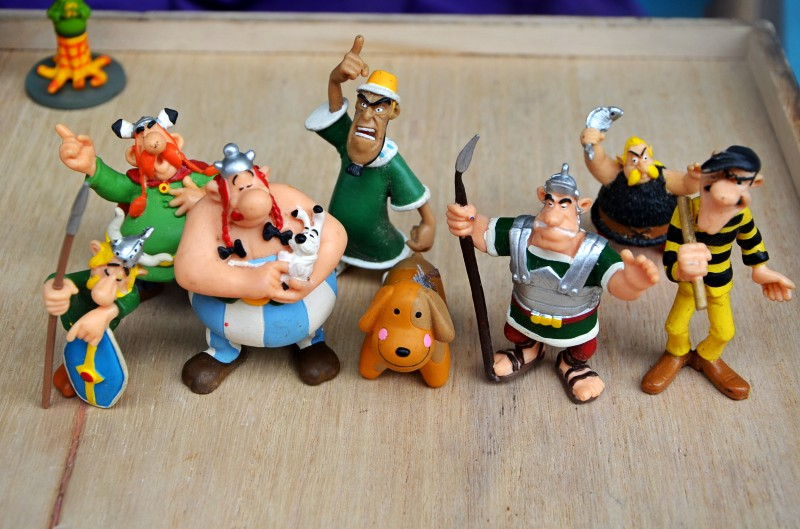 Lucky Luke  Toys Figures Cartoon Doll Classic France Cartoon The Adventures Of  Astérix