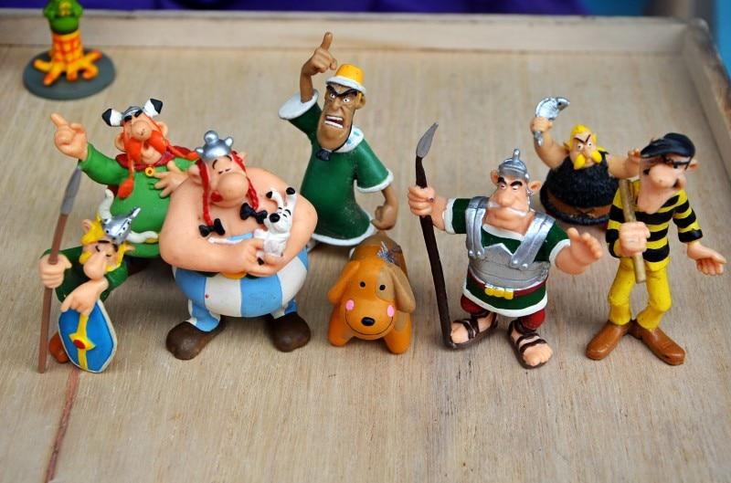 Lucky Luke  Toys Figures Cartoon Doll Classic France Cartoon The Adventures Of  Astérix