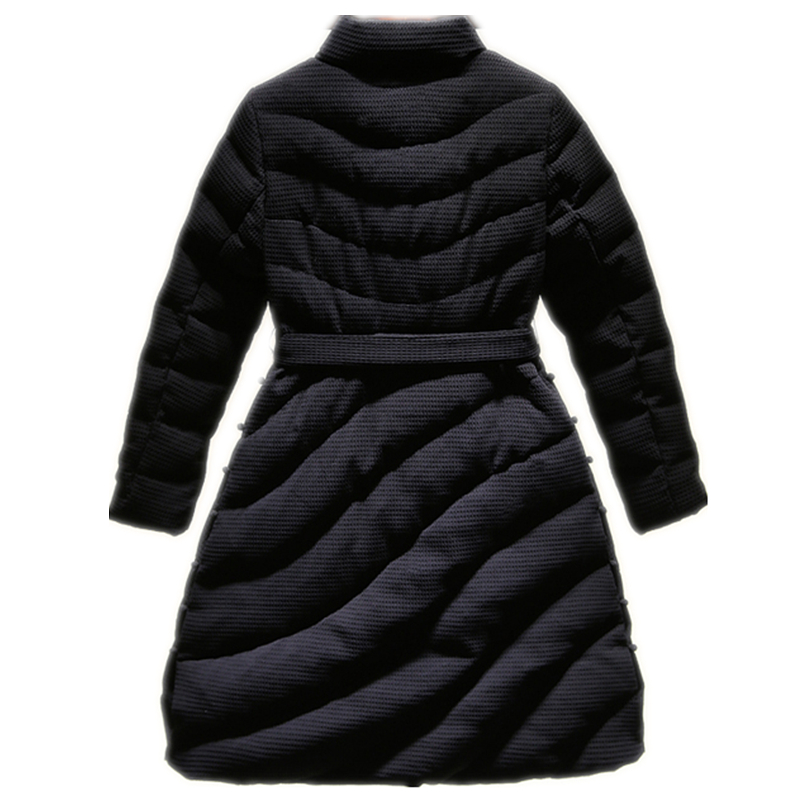 Nouvelle Mode gray Maxi À Femmes Lxt30 Coton Long Manteaux gules Black Longues Manches Vestes Rembourré Parka Arrivée Chaud D'hiver Épais zAWp0rnz