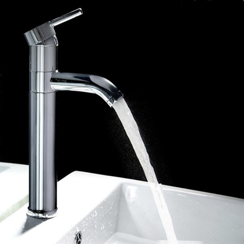 1 pcs of Cold and Hot Sink Faucet for Bathroom Swivel 360 degree Basin Faucet Tap for Promotion and Good Price for Wholesales