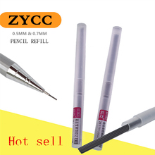 0.5mm & 0.7mm automatic pencil for the core  2B black pencil core  the pencil lengthening refill