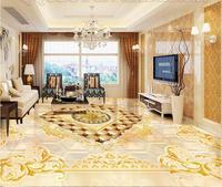 Necesita Honorable estilo real Europeo Mármol piso 3d fondo de pantalla personalizado 3d murales de papel tapiz suave bolsa 3d patrón de suelo