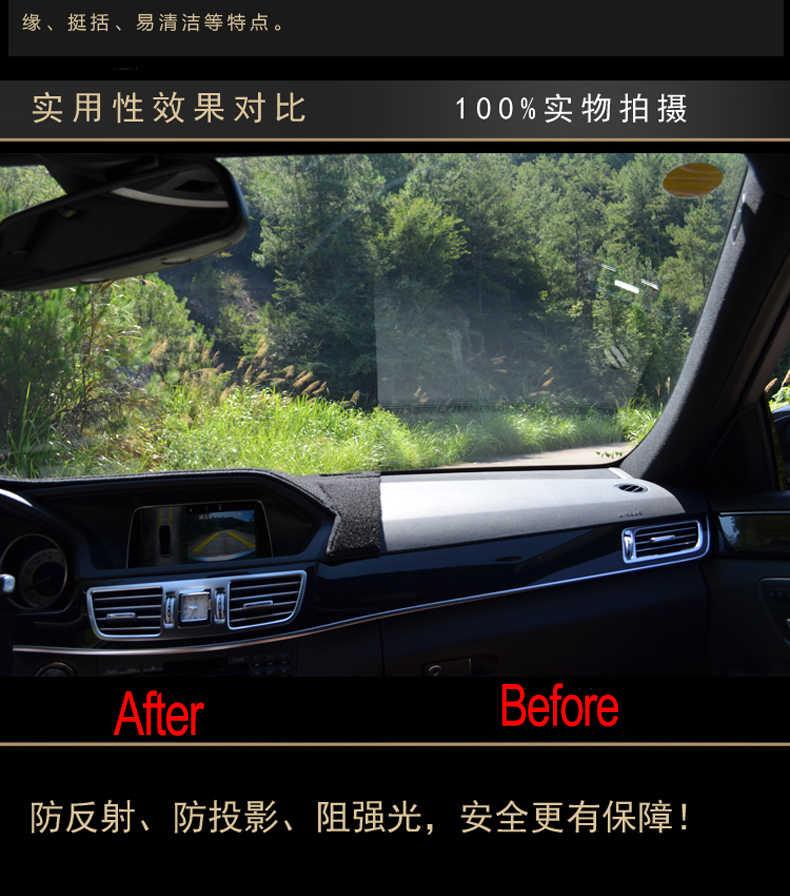 Cubierta del salpicadero del coche estera para HOVER Wingle 6 todos los años de la mano izquierda dashmat pad dash cubierta del salpicadero del coche accesorios