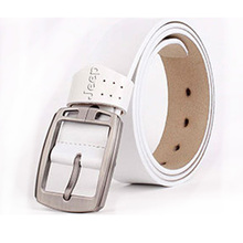 Men's Leather Belt. Available Colors – Black, Coffee, Brown or White