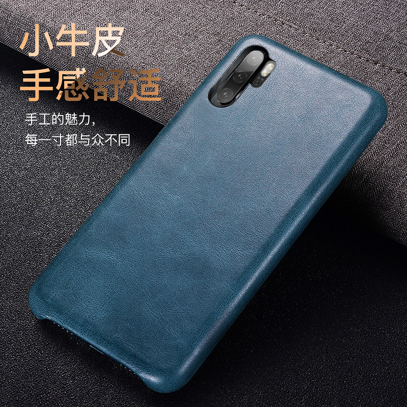 New For Huawei P30 Fashion Lady Genuine Leather Back Cover Real Natural Calf Cowhide Cow Skin Phone Case For Huawei P30 Pro-in Fitted Cases from Cellphones & Telecommunications on AliExpress - 11.11_Double 11_Singles' Day 1