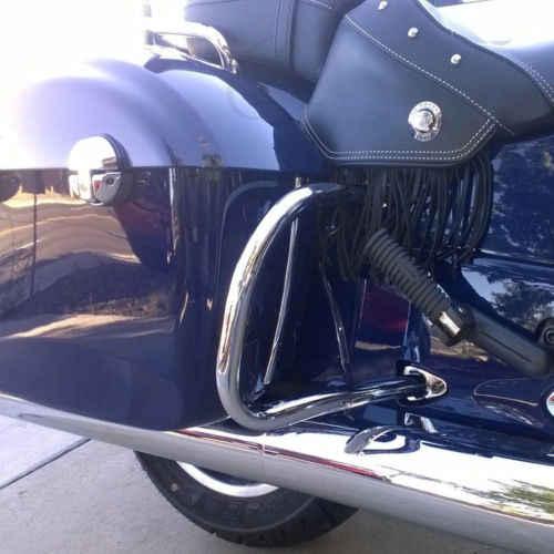 Мотоциклетные хромированные задние шоссейные стержни для индийского вождя классический винтажный Темный конь Roadmaster 14-18 15 16