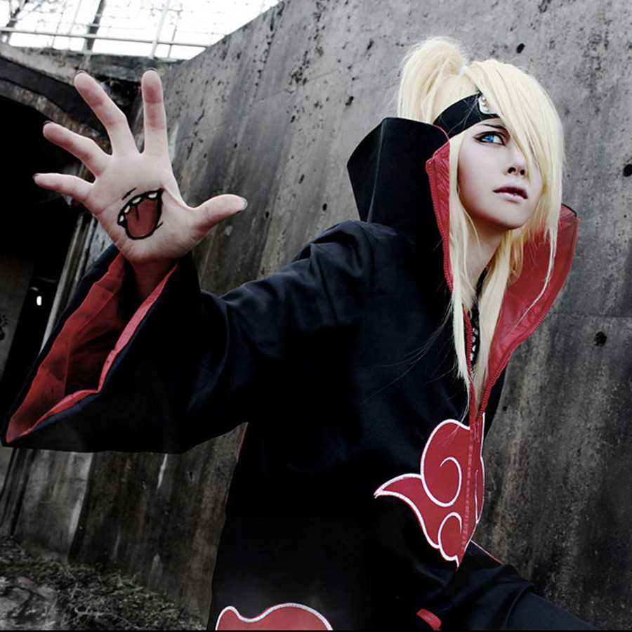 Image 4 - Naruto Cosplay Costume Akatsuki Cloak Hawk/Snake Cosplay Costume-in Anime Costumes from Novelty & Special Use
