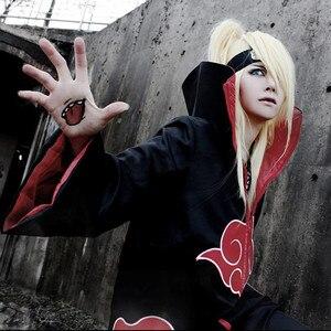 Image 5 - Naruto akatsuki cosplay traje akatsuki manto falcão cobra cosplay traje