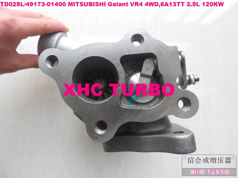 TD025L 49173-01400 турбокомпрессор турбо для Mitsubishi Galant VR4 4WD 6A13TT 2.5L 120KW