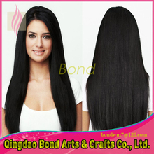 8A Brazilian Long Straight Full Lace Human Hair Wigs For Black Women Unprocessed Glueless Full Lace Virgin Hair Lace Front Wigs