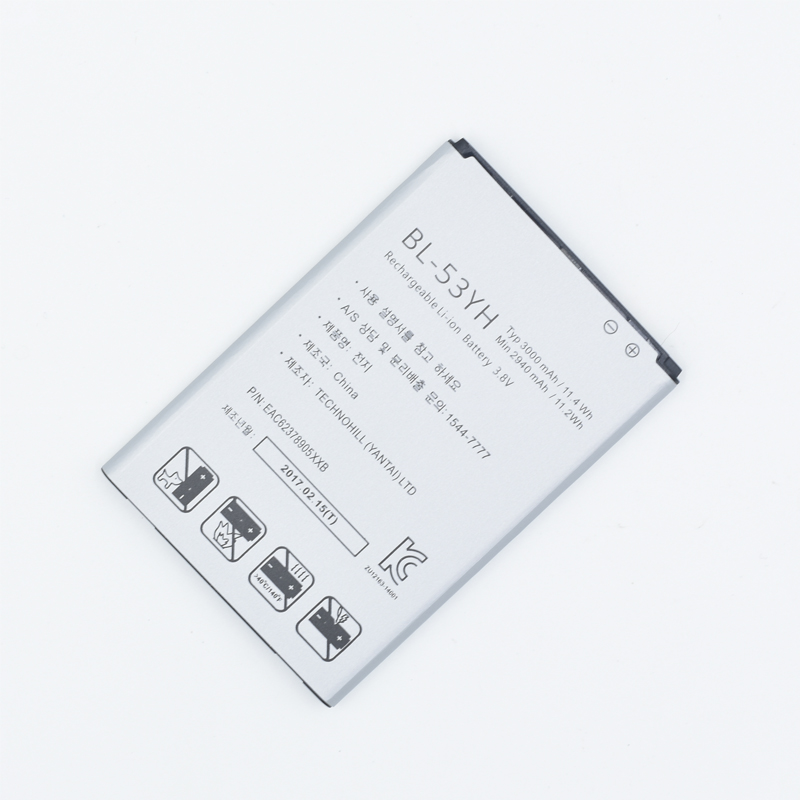 Hekiy NEW 100% BL 53YH Phone Battery For LG G3 D855 D850 D858 D859 F460 Real 3000mAh High Quality Mobile Replacement Battery-in Mobile Phone Batteries from Cellphones & Telecommunications
