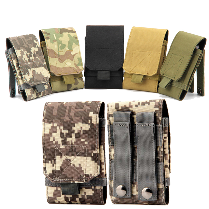 Nylon militar del ejército tactical funda para iphone 5/5s 6/6 s plus accesorios