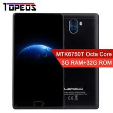 """Leagoo kiicaa смешивания Android 7.0 MTK6750T Восьмиядерный Оперативная память 3 г Встроенная память 32 г 5.5 """"FHD 13.0MP двойной Камера отпечатков пальцев molile телефон сотовый телефон"""