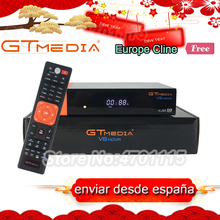 Genuine GTMedia V8 Nova With 1 Year Europe Cline Spain PT DE Poland Built-in WiFi DVB-S2 FTA Satellite Receiver Full HD Decoder