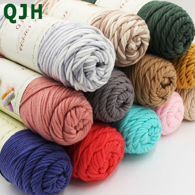 Knitting Yarn Aliexpress : Aliexpress buy g pcs natural soft silk milk