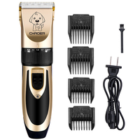 Rechargeable Low Noise Cat Dog Hair Trimmer Electrical Pet Hair Clipper Remover Cutter Grooming Pets Haircut